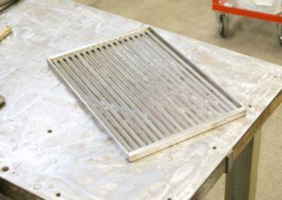 Bau eines Grillrost