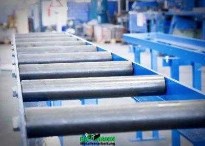 Rollenbahn aus Stahl