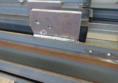Schweissnaht an einem Metall-Träger