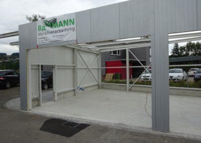 Öffnung für Rolltore