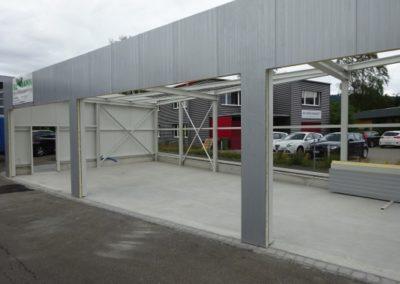 Lagerhalle ohne Rolltore